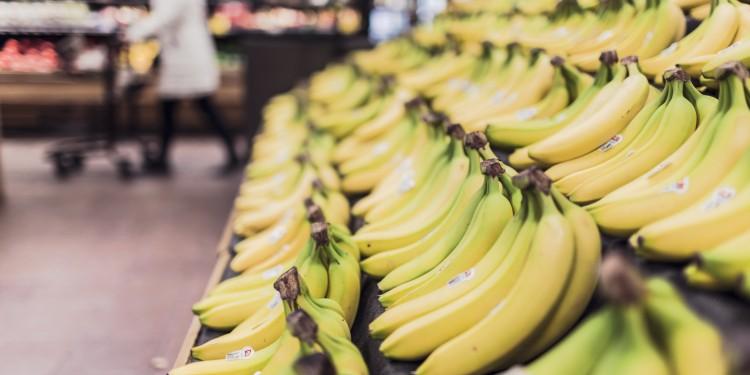Bananar eru kalíumríkir